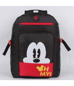 Mochila Escolar G Dermiwil Mickey Preta - 51926