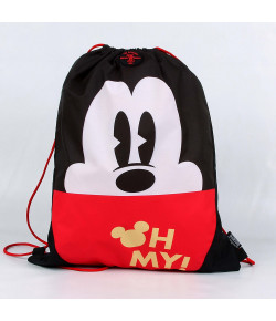 Saco com alças Dermiwil Mickey Preto - 51928