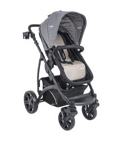 Carrinho de Bebê Explorer Lenox Kiddo Cappuccino - 5219ACA