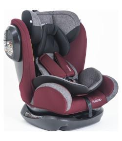 Cadeira Auto Stretch Kiddo Melange Vinho 0 a 36kg 568 AMVS