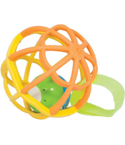 Baby Ball Luz e Som Buba Baby Amarelo e Laranja 6m+ - 5848