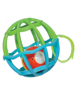 Baby Ball Luz e Som Buba Baby Azul e Verde 6m+ - 5848
