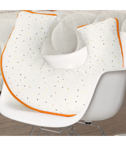 Almofada de Amamentação Batistela Baby Fox Laranja - 61418