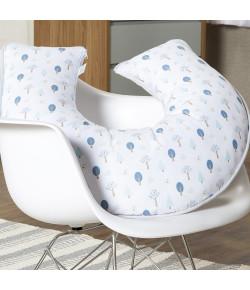 Almofada de Amamentação Batistela Baby Florest Azul - 61618