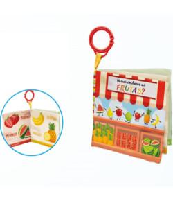 Livrinho Buba Toys Conhecendo as Frutas 6m+ - 6847