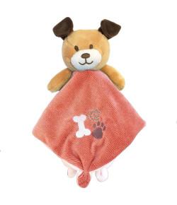 Naninha de Pano Baby Dog Buba Rosa - 7492