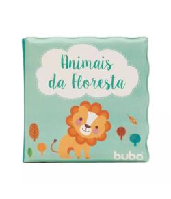 Livrinho de Banho Buba Toys Animais da Floresta 6m+ - 7497