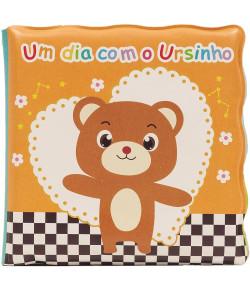 Livrinho de Banho Buba Toys Um Dia com o Ursinho 6m+ - 7498