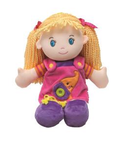 Boneca de Pano Aprendendo a Vestir Buba Girl - 7569
