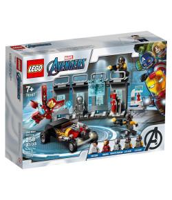 Lego Super Heróis Marvel Depósito de Armas do Homem de Ferro 7+ 76167