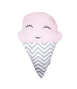 Almofada Batistela Baby Formato de Sorvete Rosa - 79009