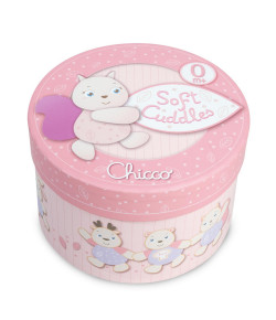 Caixa De Música Chicco Soft Cuddles Rosa
