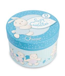 Caixa De Música Chicco Soft Cuddles Azul