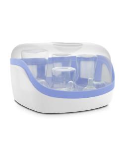 Esterilizador Natural Chicco Maxi Microondas Azul