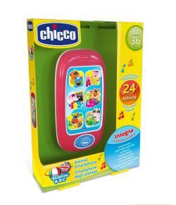Brinquedo Smartphone Animal  Chicco Bilíngue Br/Usa'