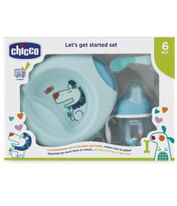 Kit de alimentação Chicco (6m+) - Azul