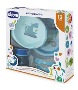 Kit de alimentação Chicco 12m+ Azul
