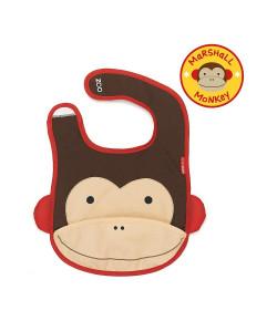 Babador Skip Hop Macaco Zoo Tuck-Away Bib A-05-004