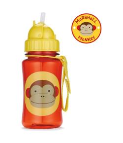 Garrafinha Skip Hop Straw Bottle Macaco Zoo 12m+A-15-004