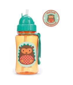 Garrafinha Skip Hop Straw Bottle Porco Espinho Zoo 12m+A-15-019