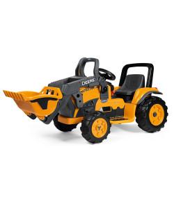 Brinquedo Escavadeira John Deere Dreere Construction Loader Amarelo