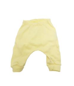 Calça Saruel Hug Nuvens de Algodão Amarelo