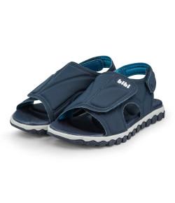 Sandália Infantil Bibi Summer Roller Sport Naval/Azul Céu