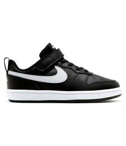 Tênis Nike Court Borough Low 2 Preto V21 BQ5451 002