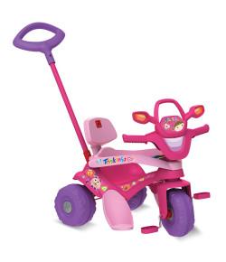 Triciclo Infantil Bandeirante Pedal Tonkinha Rosa