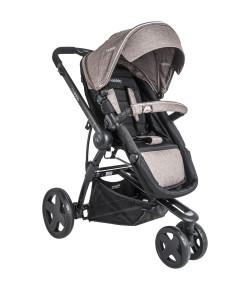 890MCS - Carrinho de Bebê Compass III Melange Cappuccino Lenox Kiddo