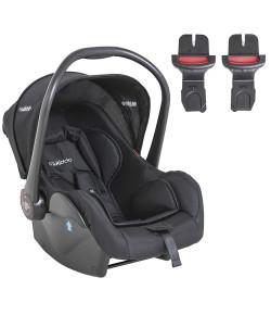 Bebê Conforto Casulo Click Kiddo Para Carrinho Explorer Preto - 415EPP