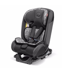 Cadeira Auto Fisher Price com Isofix All Stages Fix 0 a 36 Kg Cinza