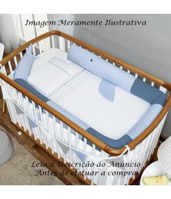 Rolinho Bichinho Batistela Baby Baleia Azul - 10085