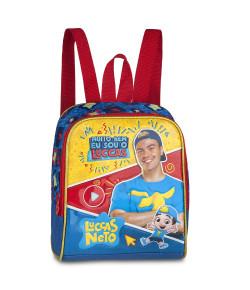 Lancheira Escolar Clio Style Luccas Neto Azul LN9009L