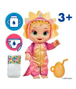 Boneca Baby Alive Dino Cuties Loira 3+ F0933