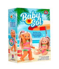 Boneca Baby Sol Estrela +3M
