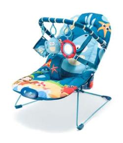 Cadeira de Descanso Little Nap Multikids Baby Baleia - BB360