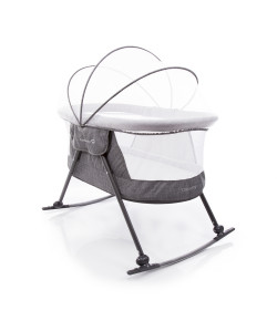 Mini Berço Desmontável Safety 1ST Moisés Dreamy Grey - IMP91298