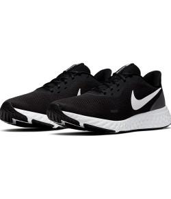 Tênis Nike Revolution 5 (GS) Preto e Branco