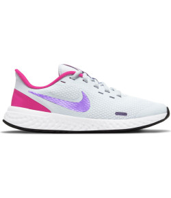 Tênis Nike Revolution 5 (GS) Branco e Pink