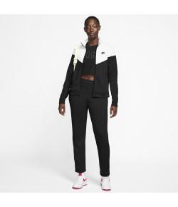 Conjunto Feminino Nike Agas W NSW TRK SUIT PK Preto e Branco V20 BV4958-010