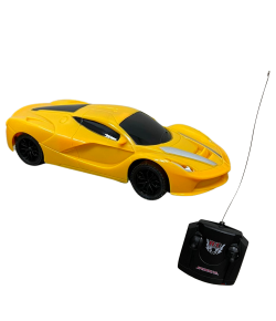 Carrinho de Controle Remoto Importway 4 Funções 1:24 Amarelo