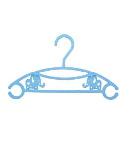 Kit Infantil 6 Cabides Clingo Elefante Azul - C0001