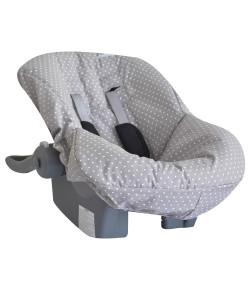 Capa para Bebê Conforto Lala Lipe Estrela Cinza - BCT/4E