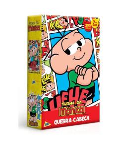 Quebra-Cabeça Toyster Turma da Mônica - Cebolinha 200 Peças