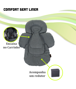 Acolchoado Confort Seat Liner ABC Design Mountain - 91323802