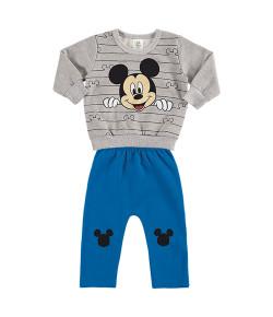 Conjunto Blusa e Calça Moletom Marlan Mickey INV19 - D2129