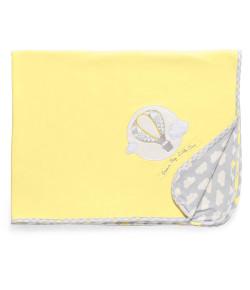 Manta Suedine Hug Sunshine Amarelo - E11313