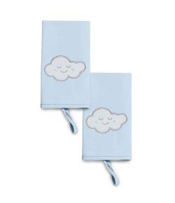 Kit Babinha Hug Pedacinho do Céu Azul 2 Unidades - E12401A