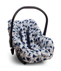 Capa Para Bebê Conforto Hug Madri Azul Marinho - E12720
